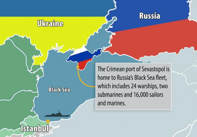 Odgovor Iz Rusije Krim Ce Biti Mjesto Postavljanja Nuklearnog Oruzja