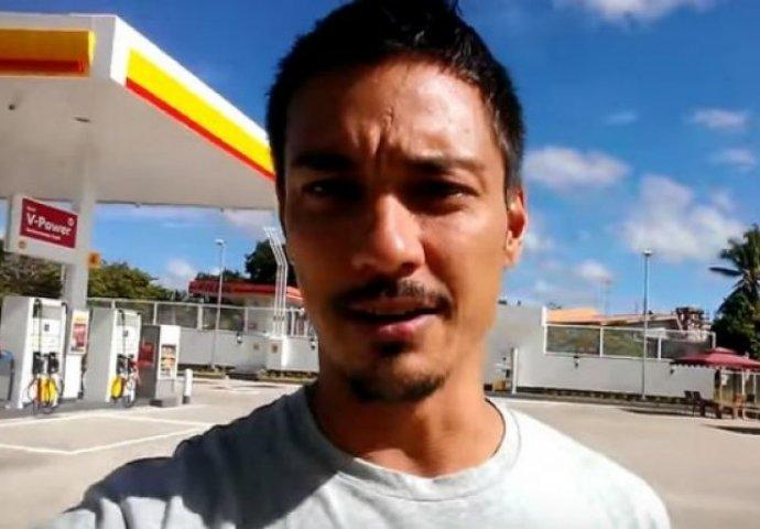 (VIDEO) Nećete vjerovati šta se nalazi u toaletu ove benzinske pumpe!  Novi.ba
