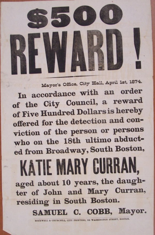 rewardposterkatiemarycurran1874