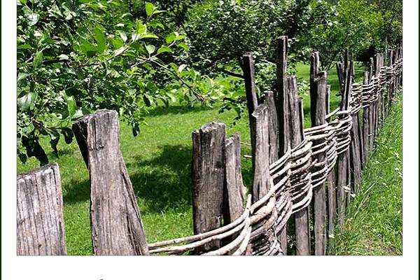 Ovom ogradom se nekada ograđivala svaka seoska avlija