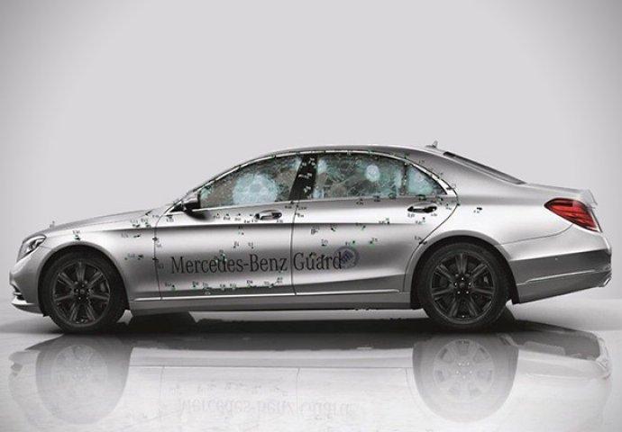 Ovako izgleda izre etani luksuzni blindirani mercedes for Mercedes benz 6550