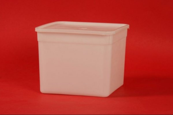 Isjekla je dno praznim kutijama od sladoleda, a zatim je sipala beton u njih:...
