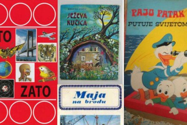 Knjige i slikovnice koje će vas iste sekunde vratiti u rano djetinjstvo! (FOTO)