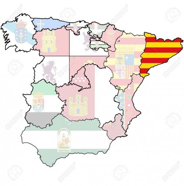 katalonija mapa Katalonski proces | Novi.ba katalonija mapa