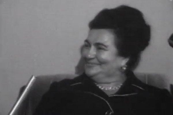 Jovanka Broz pred kamerama 1975. godine (VIDEO)