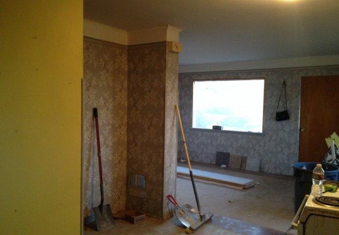 Poslije 30 godina raspadanja odlučila je da renovira ovu užasnu staru kuću: K...