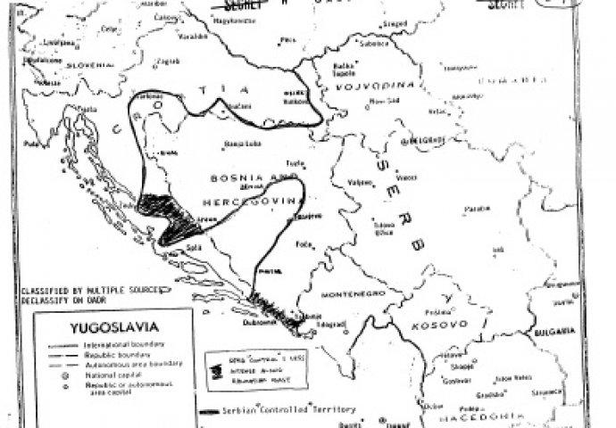 granice teritorije koju prisvajaju Srbi