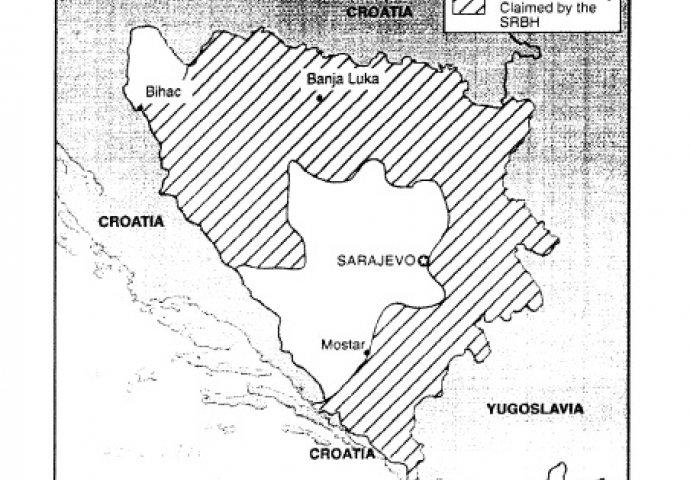 Procjene teritorije koju je okupirala tzv. srpska republika BiH