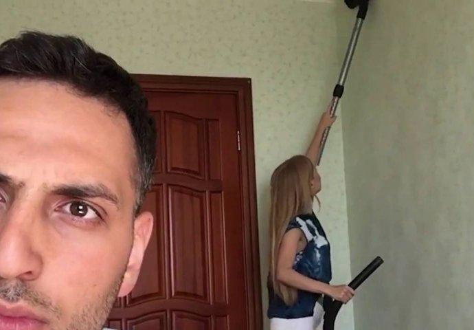 Supruga dobiti veliki kurac