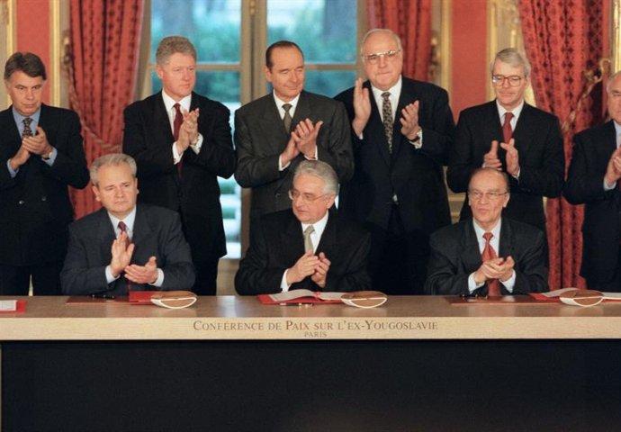 OKONČAN RAT U BIH: Prije 22 godine zvanično potpisan Dejtonski sporazum