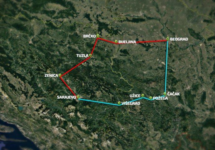 Sastanak U Tuzli Planiranje Trase Puta Sarajevo Beograd Novi Ba