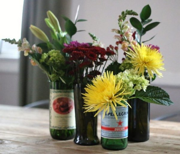 glass-bottles-turned-into-flower-vases